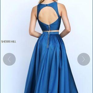 Sherri Hill High Low Prom Dress